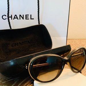 Chanel Chic Sunglasses & Chanel Case